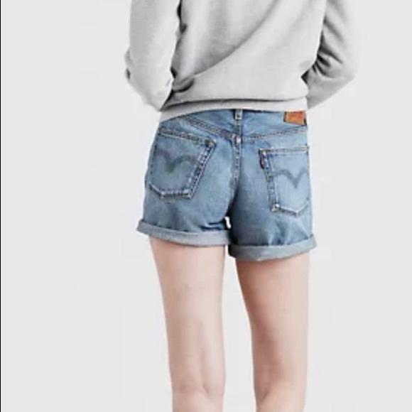 Levi's 501 Long Women's Jean Shorts